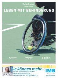 LEBEN MIT BEHINDERUNG - Berliner Zeitung