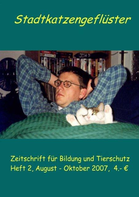 Stadtkatzengeflüster Nr. 2 von 2007 Berliner Stadtkatzen eV