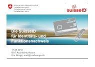 SuisseID - Berner Architekten Treffen