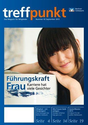 Ausgabe 43 (September 2013) - Berliner Volksbank