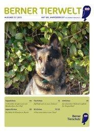 Ausgabe 1/2013 - Tierschutzverein Bern