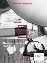 Dokumentation Theatertreffen der Jugend 2013 - Berliner Festspiele