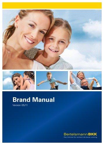 Brand Manual - Bertelsmann BKK