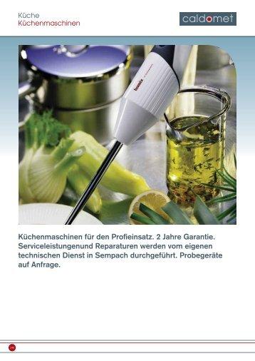 Download Kapitel Küche Teil 2 - Berndorf
