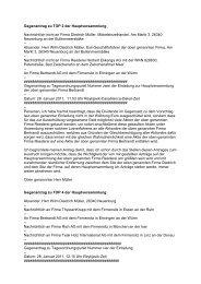 Gegenanträge vom 28.01.2011 - Bertrandt
