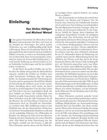 Einleitung - Bertz + Fischer