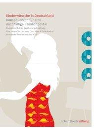 Kinderwünsche in Deutschland Konsequenzen für eine nachhaltige ...
