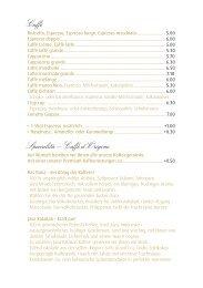 Caffè Specialità – Caffè d'Origine - Best of Swiss Gastro