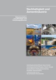 (PDF) Dokumentation Nachhaltigkeit und Zementindustrie - Beton.org