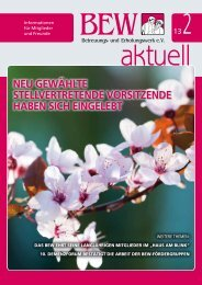 BEW aktuell - Ausgabe 2-20134.51 MB - Betreuungs