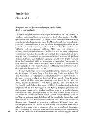Burgdorf und die Judenverfolgungen in der Mitte des 14. Jahrhunderts
