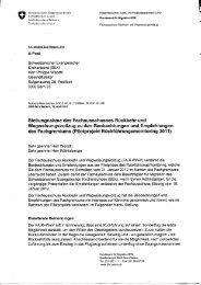 Stellungnahme - Bundesamt für Migration - admin.ch