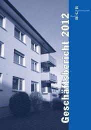 PDF Herunterladen - Baugenossenschaft Reussbühl