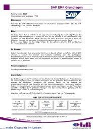 SAP ERP Grundlagen