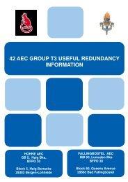 42 aec group t3 useful redundancy information - BFGnet