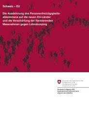 Schweiz–EU - Bundesamt für Migration - admin.ch
