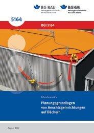 BGI 5164 - Berufsgenossenschaft Holz und Metall