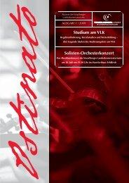 Studium am VLK Solisten-Orchesterkonzert