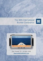 The 30th International Bunker Conference