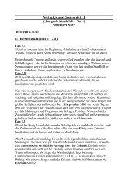 Weltreich-Gottesreich 2 - Bibelwissen