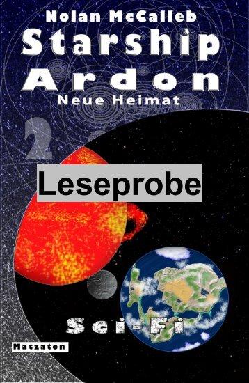 Leseprobe Starship Ardon - Neue Heimat