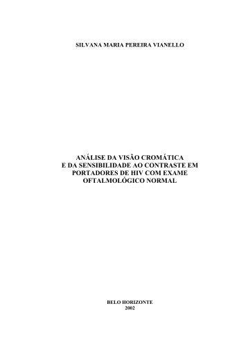 silvana maria pereira vianello - Biblioteca Digital de Teses e ...