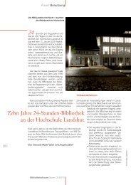 Zehn Jahre 24-Stunden-Bibliothek an der Hochschule Landshut ...