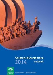 Studien-Kreuzfahrten 2014 - Biblische Reisen