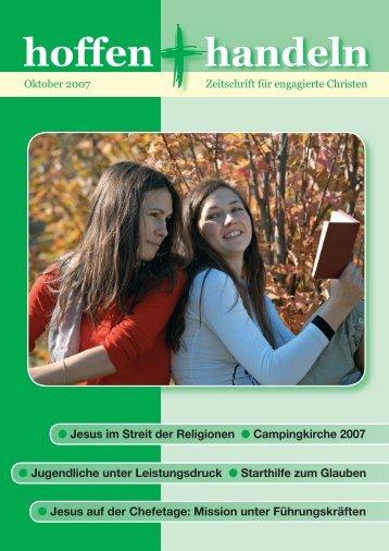 Oktober 2007 - Evangelische Vereinigung für Bibel und Bekenntnis ...