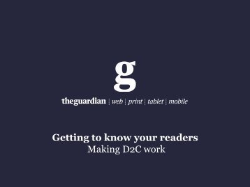 Getting to know your readership - Book Industry Communication