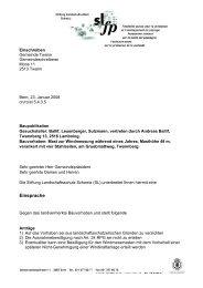 Einsprache gegen Mast auf Twannberg (PDF) - Bieler Tagblatt