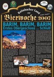 Bierfestzeitung 2007 Ausgabe 4