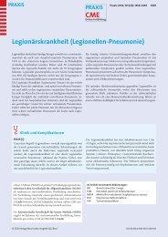 Legionellen-Pneumonie - Berner Institut für Hausarztmedizin BIHAM ...