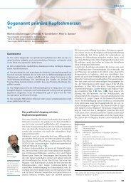 Kopfschmerzen, primäre - Teil 1 (pdf, 607KB)