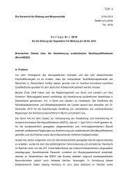 BremABQG - Die Senatorin für Bildung und Wissenschaft - Bremen