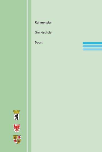 Rahmenplan Grundschule Sport