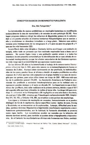 conceptos basicos en meningitis purulenta - Binasss