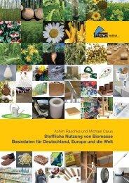 Stoffliche Nutzung von Biomasse Basisdaten für ... - nova-Institute
