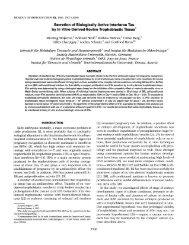 Secretion of Biologically Active Interferon Tau - Biology of ...