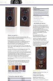 Brilon AP Website german/english - Audio Physic