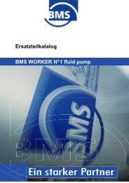 Ersatzteilkatalog WORKER N°1 Fluid Pump - BMS Bau-Maschinen ...