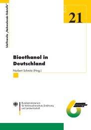 Bioethanol in Deutschland (Stand 2003) - Biotechnologie.de