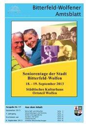 Amtsblatt 17-13 erschienen am 06.09.2013.pdf - Stadt Bitterfeld ...