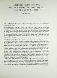 adolphus asher (1800-1853): berlin bookseller ... - British Library