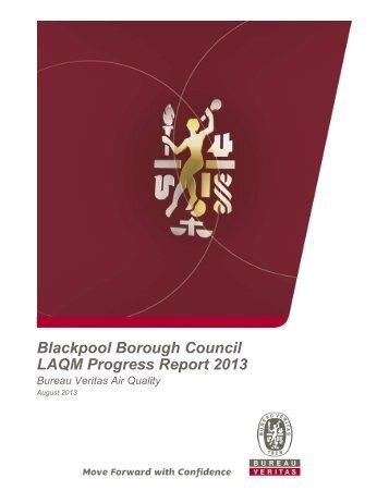 Air Quality Annual Progress Report 2013 [PDF ... - Blackpool.gov.uk