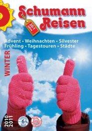 Schumann Reisen Winterkatalog 2010-2011 - HA797