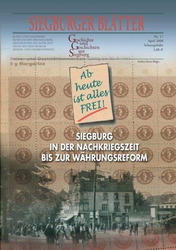 Geschichte und eschichten aus iegburg - Blattwelt