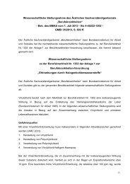 Wissenschaftliche Stellungnahme - Bundesministerium für Arbeit ...
