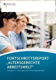 """Fortschrittsreport """"Altersgerechte Arbeitswelt"""" - Bundesministerium ..."""