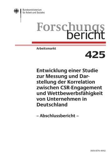 Entwicklung einer Studie zur Messung und Darstellung der ...